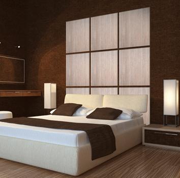 Paneles decorativos de madera manufacturas medrano - Paneles para forrar paredes ...