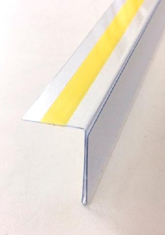 Portaetiquetas de pl stico transparente flexible - Plastico autoadhesivo ...