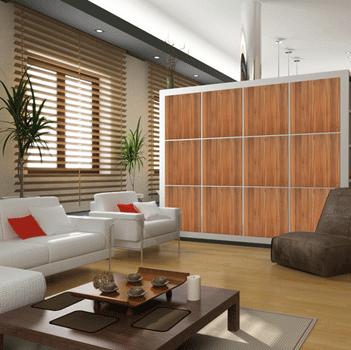 Paneles decorativos de madera manufacturas medrano - Paneles laminados para paredes ...